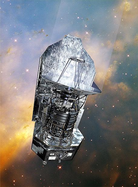 Imagen del telescopio Herschel