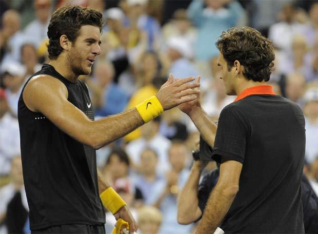 Federer como un buen perdedor jeje