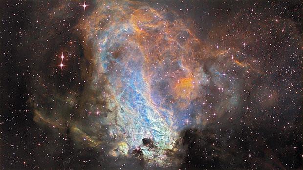 La nebulosa Omega.
