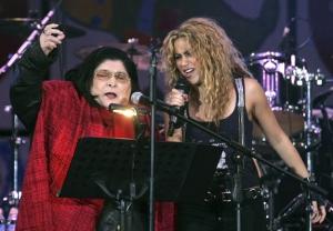 Mercedes Sosa y Shakira